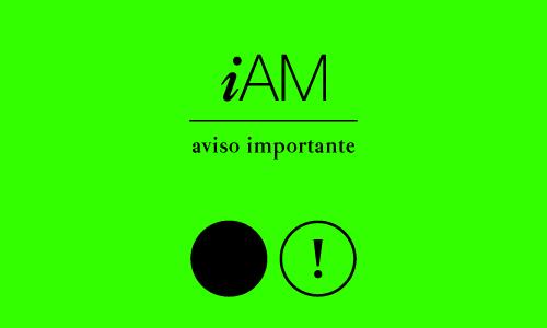Aviso importante iAM